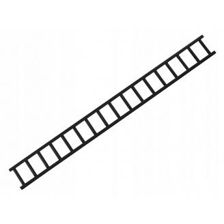 Решетка снегозадержателя сталь IVT 8019 темно-коричневый 20 см 2000x2 мм