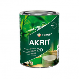 Краска Eskaro Akrit 20 интерьерная 0,95 л