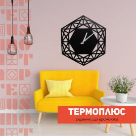 Годинники настінні металеві Термоплюс 480 мм