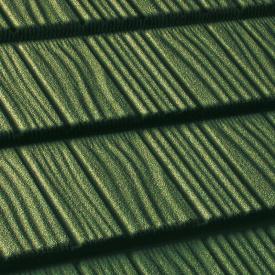 Композитная черепица QueenTile Shake 1175х420мм green