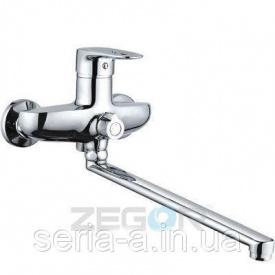 Смеситель ZEGOR Z63-NGB-A185 для ванны