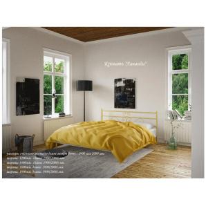 Ліжко металеве Лаванда 1600х1900