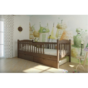 Дитяче ліжечко з 1 або 2 парканами ЮНІОР