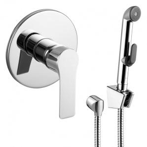 KUCERA набір змішувач прихованого монтажу з гігієнічним душем IMPRESE VR30105Z-BT