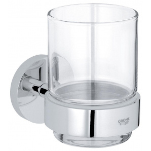 Essentials Стакан скляний з держателем хром GROHE 40447001