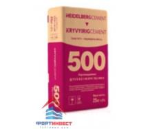 Цемент ПЦ-500 ХайдельбергЦемент 3 кг