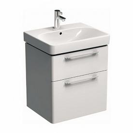 TRAFFIC шкафчик под умывальник 56,8x62,5x46,1 см белый глянец пол KOLO 89433000