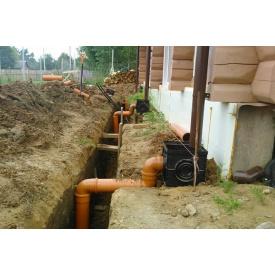 Установка зливової каналізації