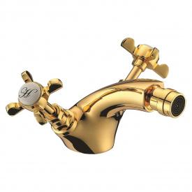 CUTHNA zlato двохвентильний змішувач для біде золото IMPRESE 40280 zlato-n
