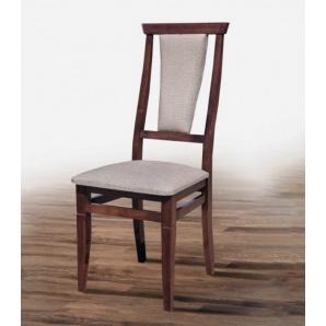 Обідній стілець з масиву дерева Чумак горіх тканина Дакар