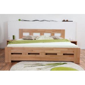 Ліжко двоспальне з бука Space 1600 мм