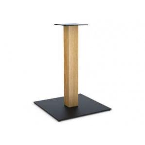 Опора ніжки в стилі Лофт з металу для масивних стільниць 40х40х0,8 см