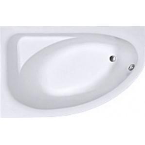 SPRING ванна асиметрична 160x100 см ліва біла з ніжками SN7 KOLO XWA3061000