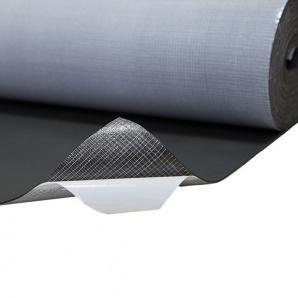 Шумоізоляція спінений каучук з клеєм 10 мм 10 м2