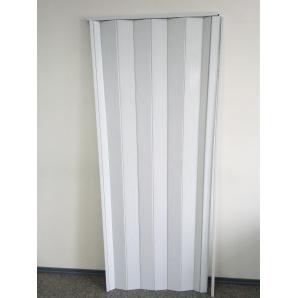 Міжкімнатні двері гармошка Build System 81х203 см-білий
