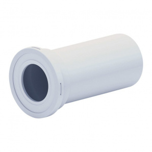 Фанова труба ANI Plast W1220 для унітазу випуск 110 мм, пряма 250 мм
