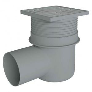 Трап ANI Plast TA1612 горизонтальний з нержавіючої сіткою 150x150