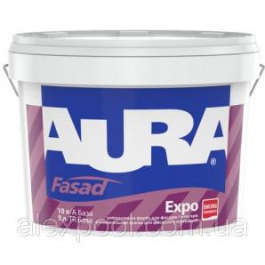 Aura Fasad Expo TR Безбарвна 2,2 л Фарба для фасадів універсальна акрилова для зовнішніх і внутрішніх робіт