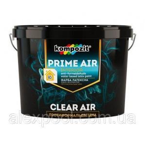 Kompozit PRIME AIR 9 л Антиформальдегидная інтер'єрна латексна фарба преміум-класу