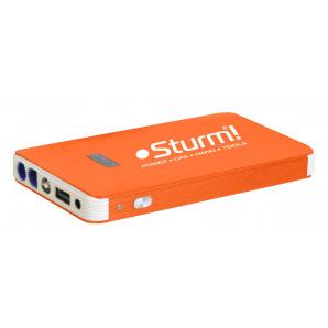 Пуско-зарядний пристрій 8000 мАхч + Power Bank + LED ліхтар Sturm BC 1208