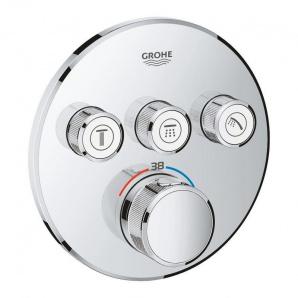 Зовнішня частина термостатичного змішувача Grohe Grohtherm SmartControl 29121000 на 3 виходи
