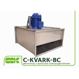 Вентилятор C-KVARK-BC канальный с выносным электродвигателем