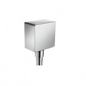 Fixfit Square Шланговое подсоединение с защитой обратного тока без шарнира HANSGROHE 26455000