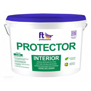 Матова вологостійка фарба Ft Protector Pro Interior 10 л