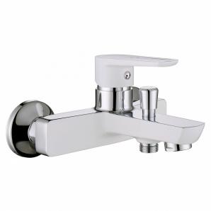 BRECLAV змішувач для ванни хром білий 35 мм IMPRESE 10245W
