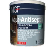Лазур-антисептик MGF Aqua-Antiseptik горіх 0,75 л