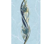 Плитка Олександрія блакитний ДЕКОР 200x300 1сорт В13401
