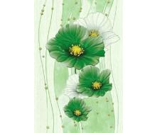 Плитка Маргарита зелений ДЕКОР 200x300 1сорт Б84401
