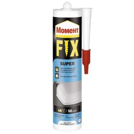 МОМЕНТ FIX Super 125г Монтажный клей (Жидкие гвозди белые)