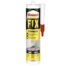 МОМЕНТ FIX Express 375г Монтажный клей (Жидкие гвозди белые)