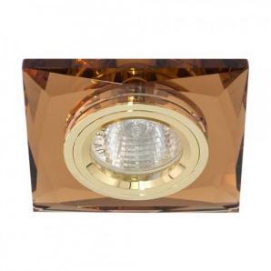 Вбудований світильник Feron 8150-2 золото коричневий