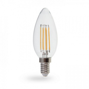 Світлодіодна лампа Feron LB-68 4W E14 4000K диммируемая