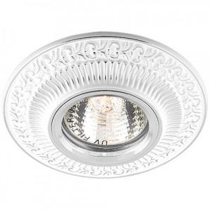 Вбудований світильник Feron DL6240 білий срібло