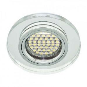 Вбудований світильник Feron 8060-2 з LED підсвічуванням