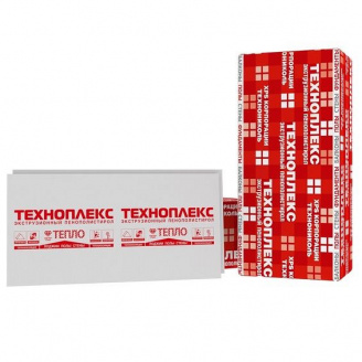 Пінополістирол Техноплекс ХРS 1100х550х40-L Г4 сірий 0,605 м2 / шт
