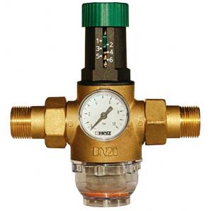 Редуктор тиску мембранний Herz DN15 1/2 для холодної води 1268211
