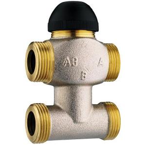 Триходовий термостатичний клапан з байпасом kvs 4 DN 15 Herz 1776361