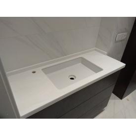 Столешница в ванную из акрила Marble Ocean M707