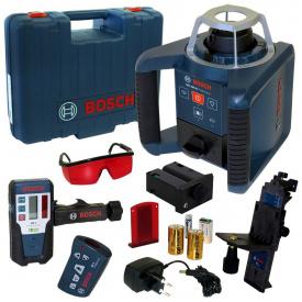 Ротационный лазерный нивелир Bosch GRL 300 HV Professional Set 60 м с приемником 300 м (0601061501)