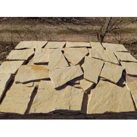 Плитка тротуарна кам`яна 3 см жовта