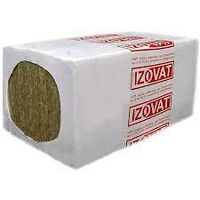 Плиты теплоизоляционные Izovat 30 кг/м3 600х1000х50 мм из минеральные ваты