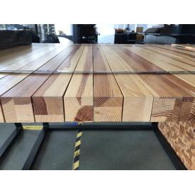 Стіл Модерн дерев`яний брус метал 1280х1250х1000 мм дуб