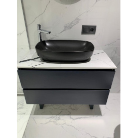 Столешница в ванную комнату из кварцевого камня Avant 7300
