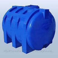 Накопительный бак для воды и других жидкостей ELBI CHO 3000 литров круглый горизонтальный