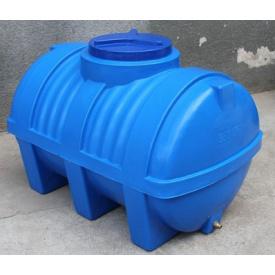 Пластиковая емкость горизонтальная - ЕG 2000 л двухслойная