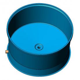Пластиковая емкость для разведения рыбы 5000 л